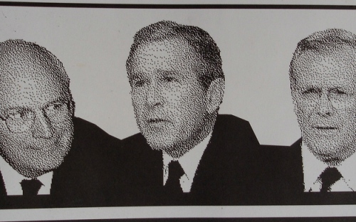 Cheney, Bush, Rumsfeld