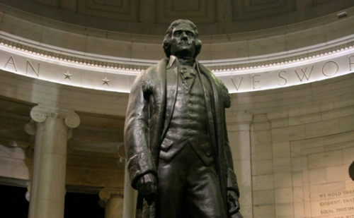Thomas Jefferson -- photo by chadh, licensed creative commons